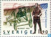 Postzegels - Zweden [SWE] - Laagdekker Blériot - 1910