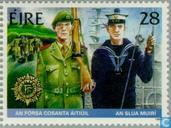Postage Stamps - Ireland - forces