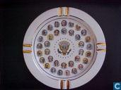 Asbak met 35 Amerikaanse presidenten