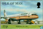Postage Stamps - Man - Aircraft