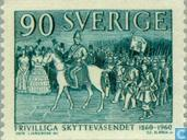 Postage Stamps - Sweden [SWE] - 100 years volunteers Protect movement