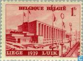Briefmarken - Belgien [BEL] - Ausstellung von Wasser Lüttich