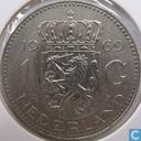 Coins - the Netherlands - Netherlands 1 gulden 1969 (fish)