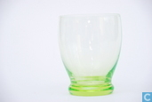 Glass / crystal - Kristalunie - Vouloir Waterglas vert-chine