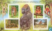 Postage Stamps - Ireland - Endangered Animals