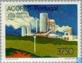 Postzegels - Azoren - Europa – Het menselijk vernuft