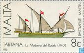Postzegels - Malta - Malteser schepen