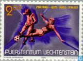 Postage Stamps - Liechtenstein - World Cup