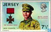 Postage Stamps - Jersey - British Legion 50 years