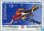 Timbres-poste - Espagne [ESP] - Jeux olympiques