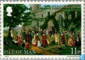 Briefmarken - Man - Wesley, John