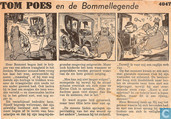 Comic Books - Bumble and Tom Puss - Tom Poes en de Bommel-legende