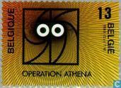 "Briefmarken - Belgien [BEL] - Operation ""Athena"""