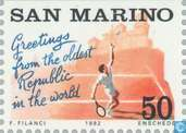 Postage Stamps - San Marino - Tourism