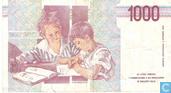 Bankbiljetten - Banca d´Italia - Italië 1000 Lire (P114c)