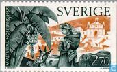 Timbres-poste - Suède [SWE] - Literatur-Nobelpreisträger