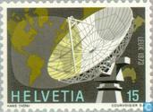 Postage Stamps - Switzerland [CHE] - Satellite ground station
