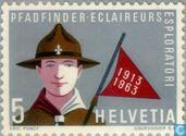 Postage Stamps - Switzerland [CHE] - 50 years of scouting
