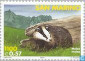 Postage Stamps - San Marino - Mammals