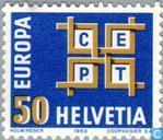 Postage Stamps - Switzerland [CHE] - Europe – C.E.P.T.