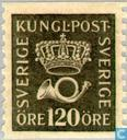 Postage Stamps - Sweden [SWE] - Crown and Post Horn