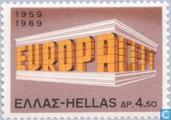 Briefmarken - Griechenland - Europa – Tempel