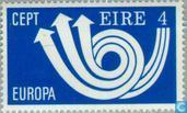 Postage Stamps - Ireland - Europe – Post Horn