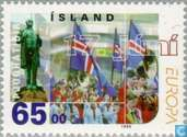 Postage Stamps - Iceland - Europe – Festivals and national Celebrations