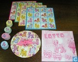 Spellen - Lotto (plaatjes) - My Little Pony - Lotto