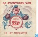Comics - Kapitein Brul Boei - Het zeemonster
