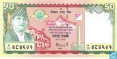 Billets de banque - Népal - Népal 50 Rupees