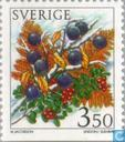 Postage Stamps - Sweden [SWE] - winter Berries
