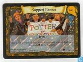 Trading cards - Harry Potter 2) Quidditch Cup - Support Banner
