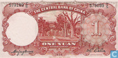 Billets de banque - The Central Bank of China - Yuan Chine 1