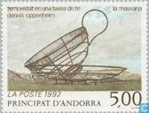 Postage Stamps - Andorra - French - Contemporary Art