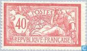 Postage Stamps - France [FRA] - Allegory (Type Merson)
