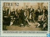 Briefmarken - Irland - Society of United Irishmen 200 Jahre