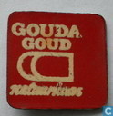 Gouda Goud natuurkaas  [white on red]