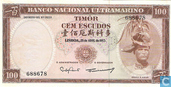 Billets de banque - Banco Nacional Ultramarino - 100 escudos Timor
