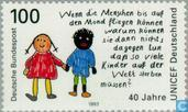 Postage Stamps - Germany, Federal Republic [DEU] - 40 years German Committee for UNICEF