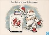 """B000153 - Sunil """"Goed nieuws voor de kerstman..."""""""
