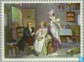 Postzegels - Ierland - Uitroeing pokken