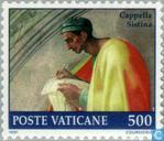 Timbres-poste - Vatican - Restauration Sixtine Chapelle