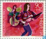 Postage Stamps - Switzerland [CHE] - Child Development
