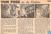 Strips - Bommel en Tom Poes - Tom Poes en de Klokker