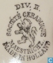 Céramique - Blanc, Blanche - MAASTRICHTS AARDEWERK