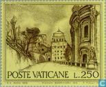 Postage Stamps - Vatican City - Buildings