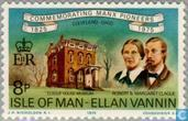 Postage Stamps - Man - Emigration to USA 1825