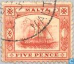 Postage Stamps - Malta - Boat