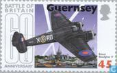 Postzegels - Guernsey - Battle of Brittain 1940